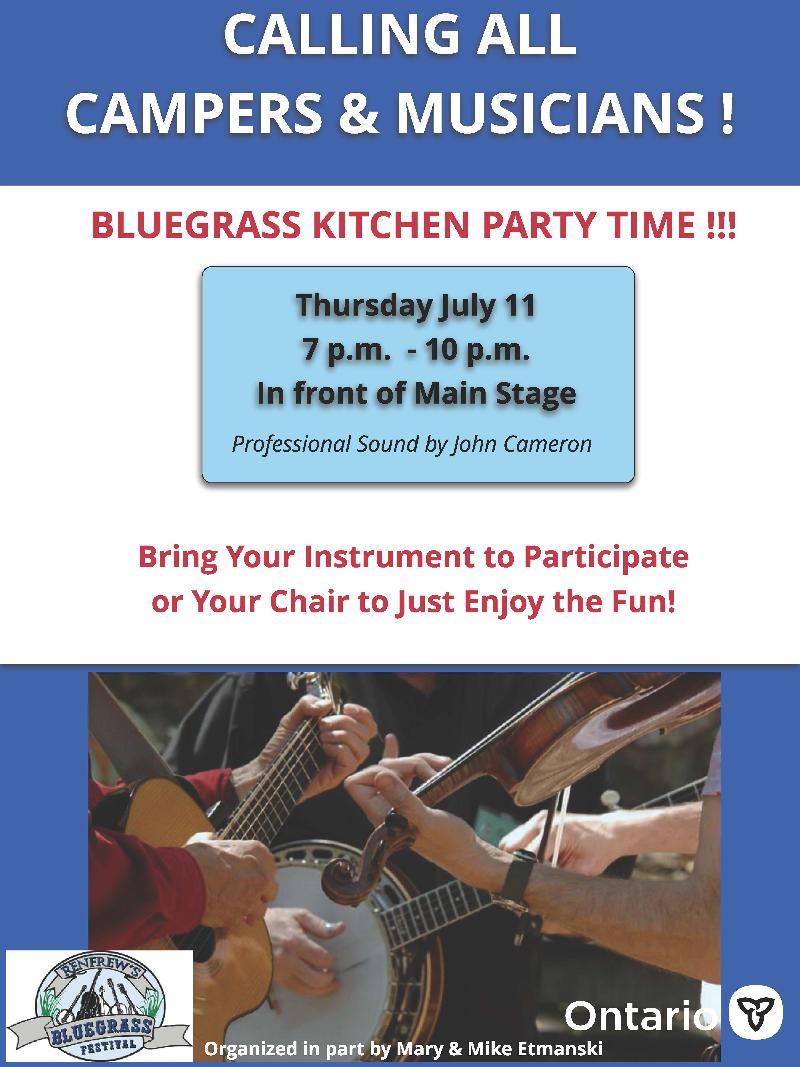 Bluegrass Kitchen Party